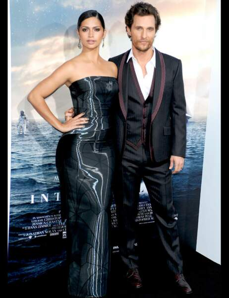 Camilla Alves et Matthew McConaughey