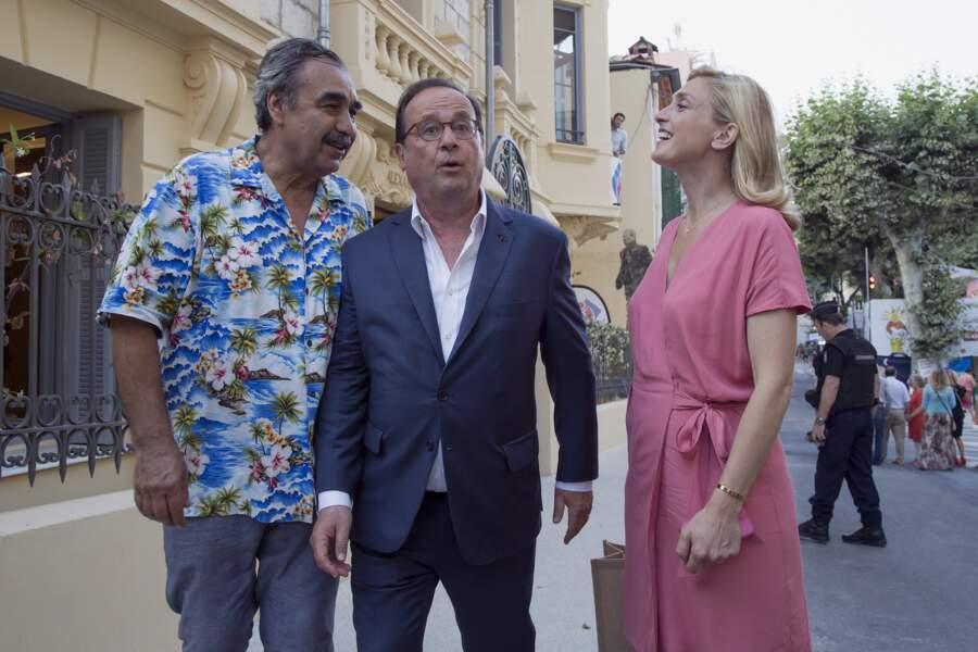 François Hollande et Julie Gayet aux Nuits du Sud à Vence