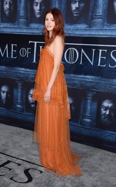 Hannah Murray (Gilly de Game of Thrones)