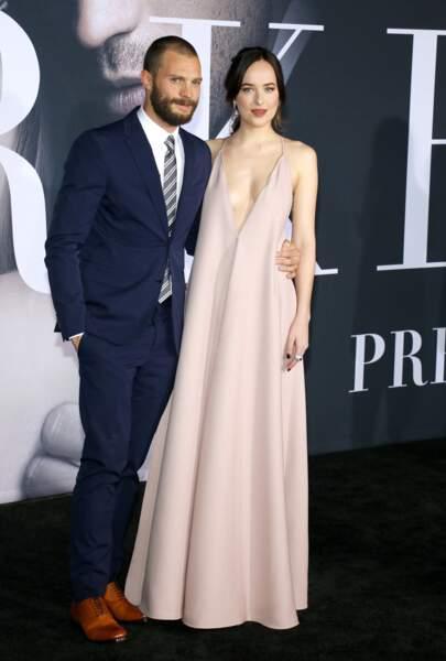 Jamie Dornan et Dakota Johnson sont les têtes d'affiche de Cinquante nuances plus sombres