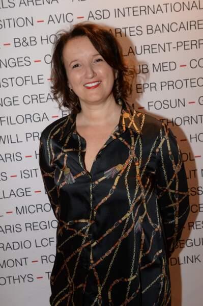 Anne Roumanoff au Pavillon Gabriel à Paris le 8 mars 2019