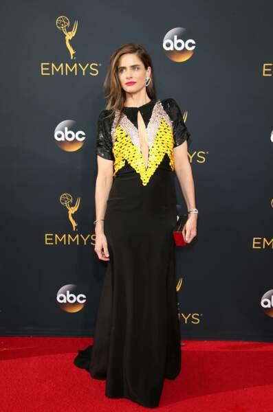 Emmy Awards 2016 : Amanda Peet en Altuzarra