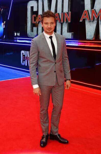 Avant-première de Captain America: Civil War - Jeremy Renner alias Oeil de Faucon