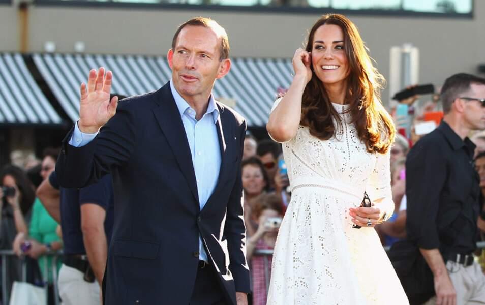 Kate et Tony Abbott, le Premier ministre australien