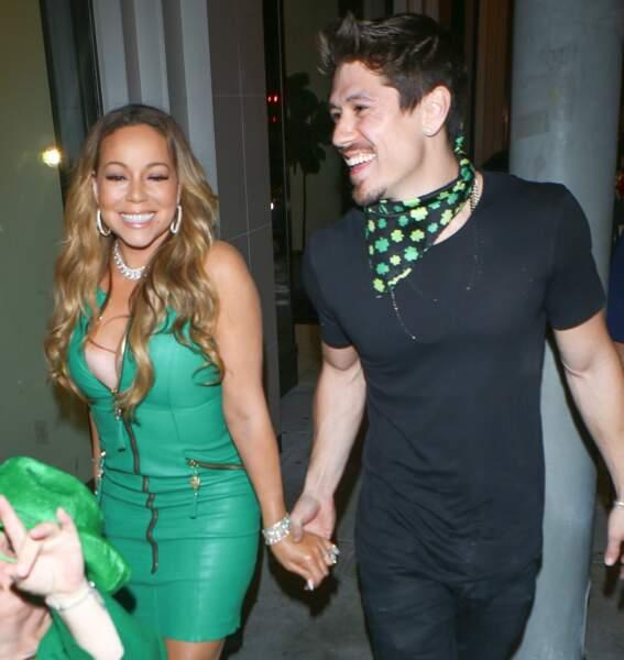 Mariah Carey très sexy pour fêter la Saint-Patrick