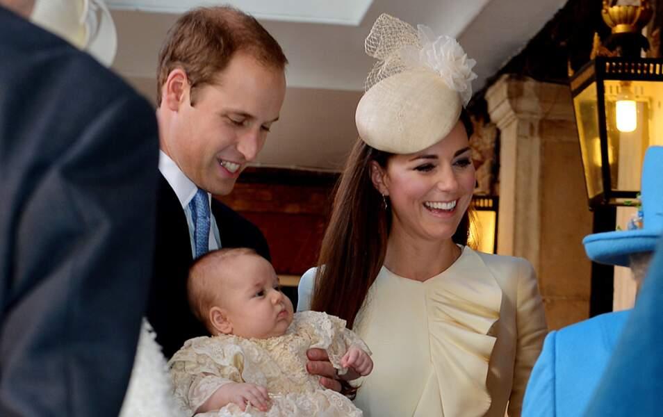 Mercredi 23 octobre 2013 à 15 heures : le baptême du prince George