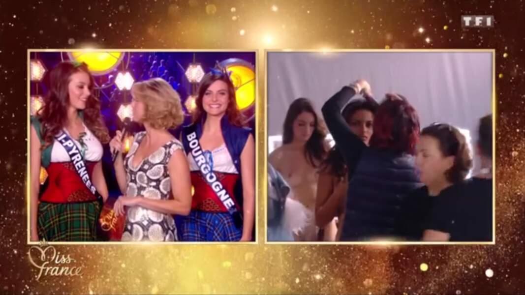 Miss France 2019 : des candidates filmées nues