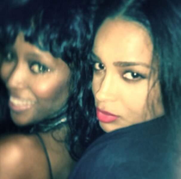 Naomi et la chanteuse Ciara