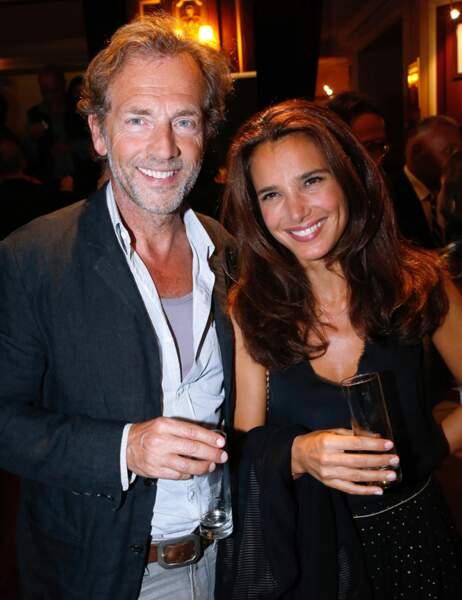 Stéphane Freiss et son épouse Ursula