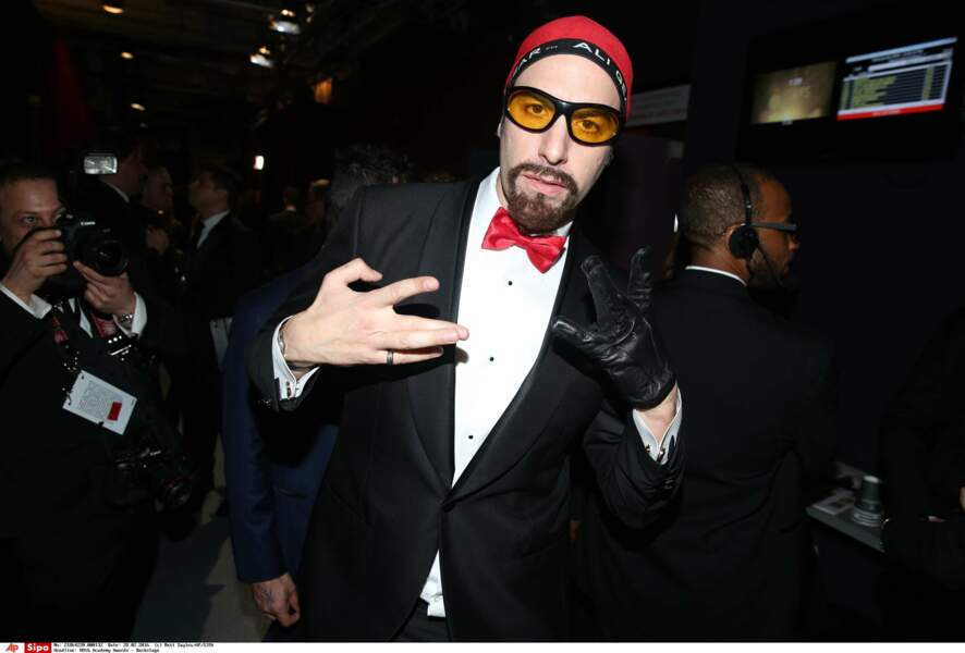 Sacha Baron Cohen déguisé en Ali G, Oscar du meilleur incrusteur de soirées