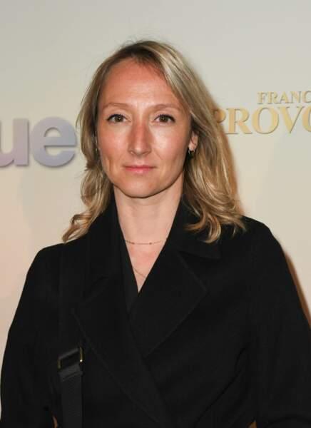 Audrey Lamy à l'avant-première de Mon Inconnue, le 1er avril, à Paris