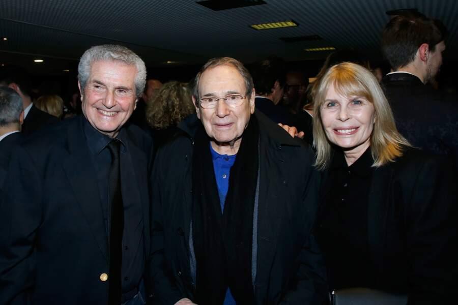 Avant-première du film Chacun sa vie : Claude Lelouch, Robert Hossein et Candice Patou