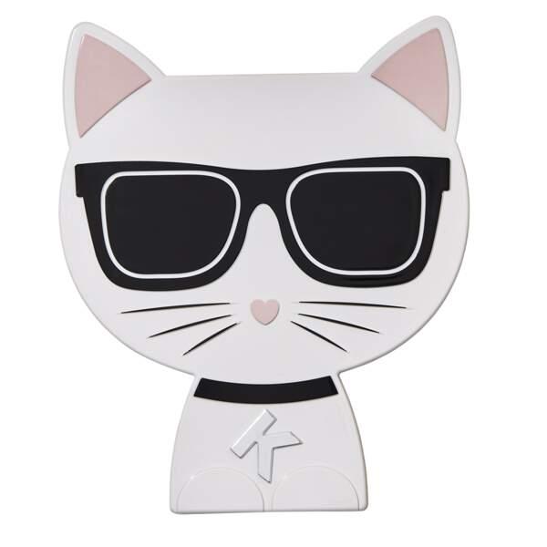 La collection de maquillage de Karl Lagerfeld x ModelCo - Palette pour les yeux Choupette, 55 euros