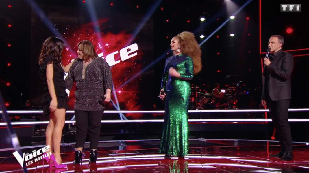 Jenifer ravissante dans sa robe signée Saint Laurent