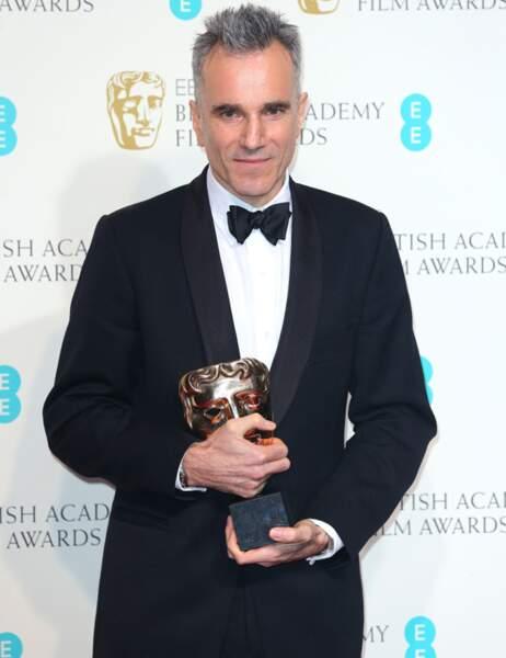 Daniel Day-Lewis a remporté le trophée de Meilleur acteur