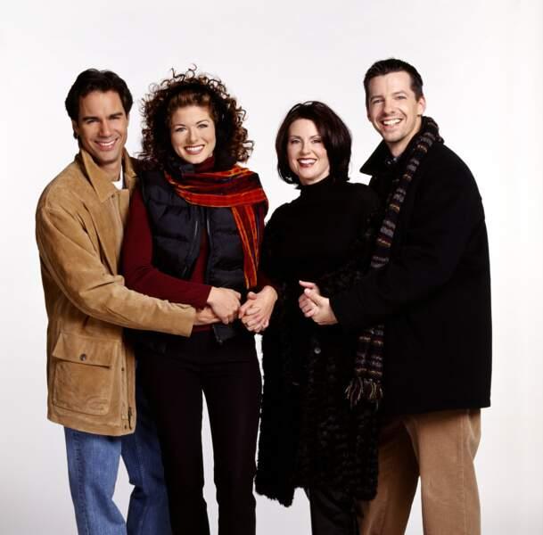 À quoi ressemblent les stars des séries télé des années 90 - Will & Grace