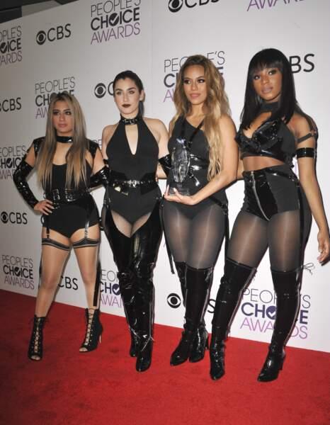 People's Choice Awards 2017 : les Fith Harmony, sans Camila Cabello, qui a quitté le groupe