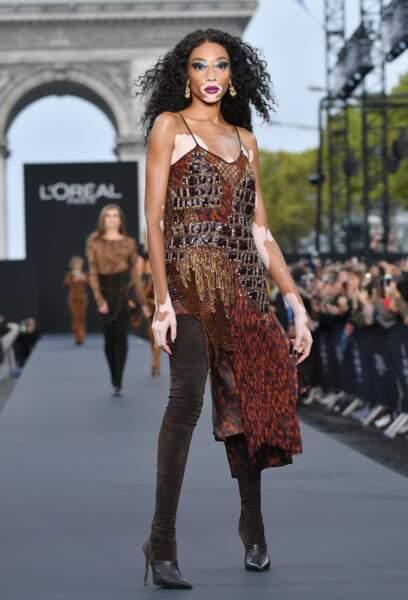 Le Défilé L'Oréal Paris show - Winnie Harlow