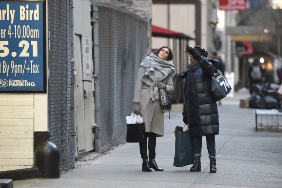 Iris Mittenaere à New York : il faut lever la tête pour admirer les gratte-ciels