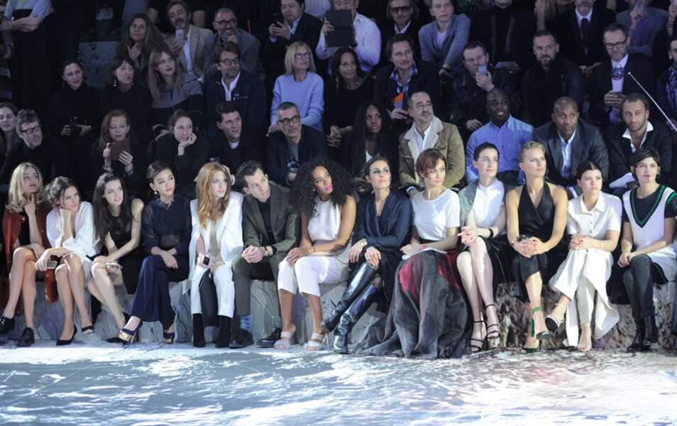 Le front Row H&M