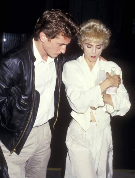 Sean Penn et Madonna en couple de 1985 à1989