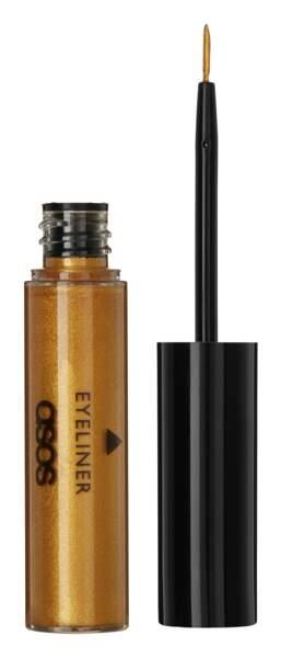 Eyeliner liquide doré Straight Up, ASOS Make-up, 8,49€