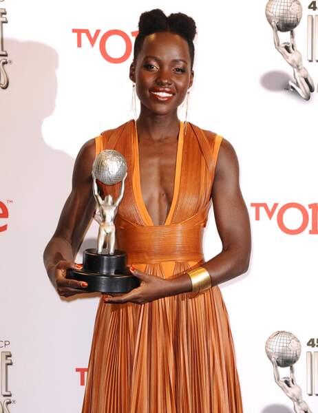 Lupita Nyong'o, couronnée meilleur second rôle féminin pour 12 Years a Slave
