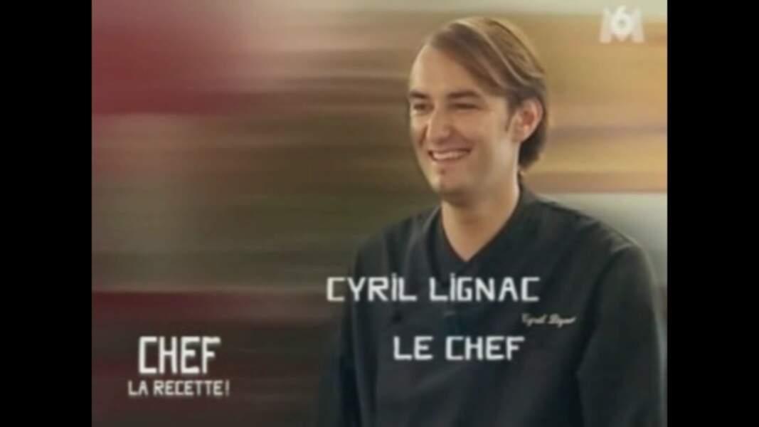 Cyril Lignac en 2007