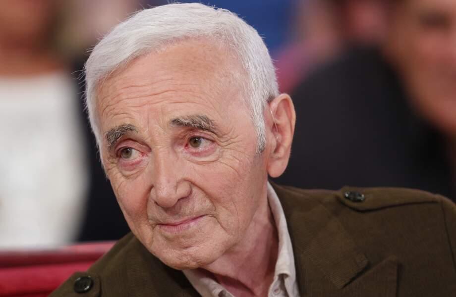 Charles Aznavour nous a quittés le 1er octobre 2018