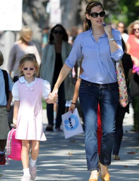 Jennifer Garner et sa fille