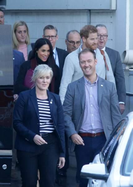 Le prince Harry et Meghan en Australie