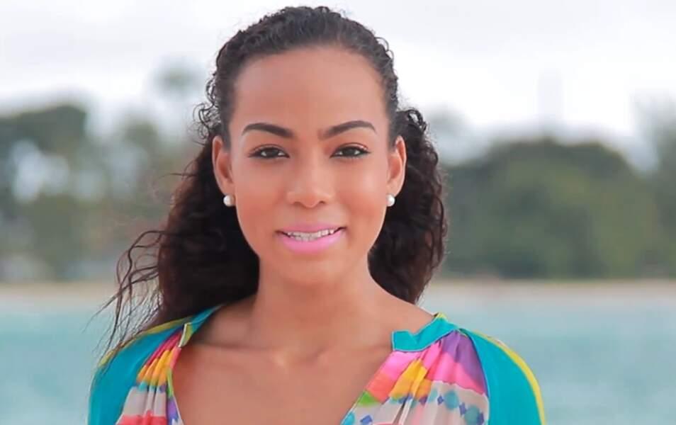 Miss Barbade Regina Ramjit, 19 ans, 1m70
