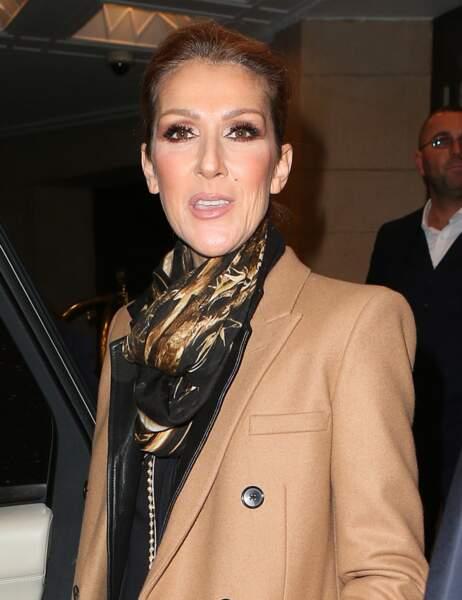 Céline Dion aujourd'hui...
