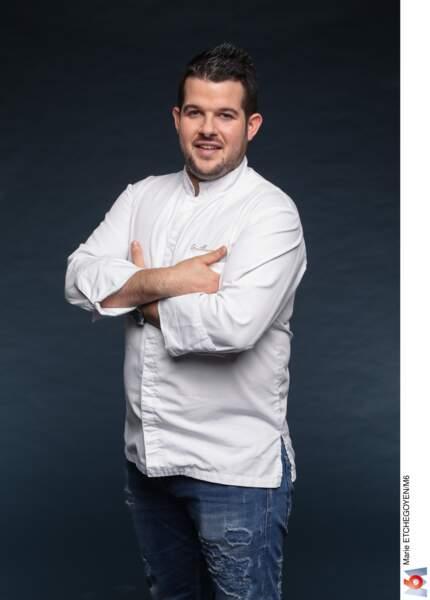 Guillaume Pape / 27 ans / Brest / Chef