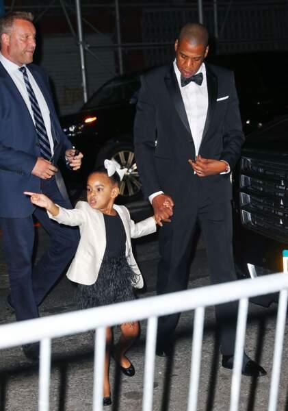 Beyoncé avait donné naissance à Blue Ivy en janvier 2012