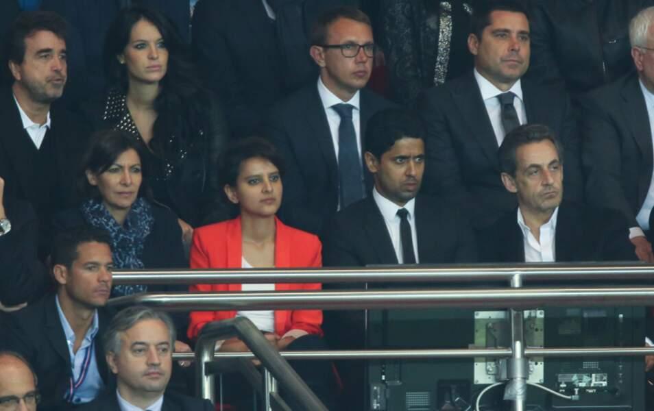 Anne Hidalgo, Najat Vallaud-Belkacem, Nasser Al-Khelaifi et Nicolas Sarkozy