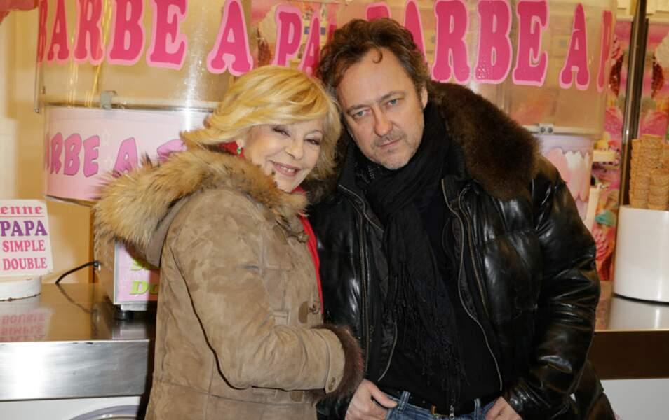 Nicoletta et son compagnon Jean-Christophe Molinier