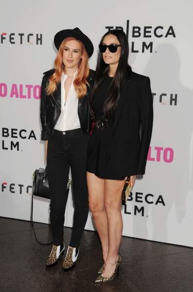 Demi Moore et Rumer Willis, les LA girls de sortie