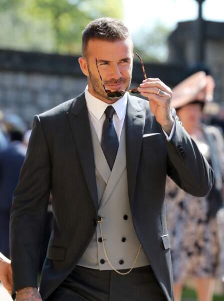 David Beckham faisait partie des invités du mariage d'Harry et Meghan