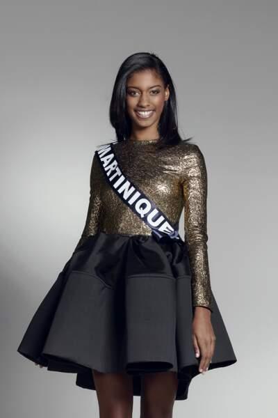 Miss Martinique : Aurélie Joachim – 18 ans