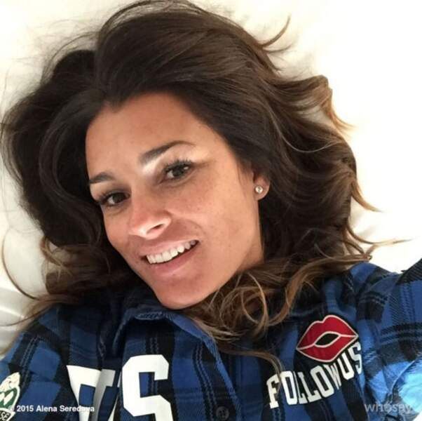 Euro 2016 : voici la très sexy Alena Seredova, compagne du joueur italien Giovanni Buffon