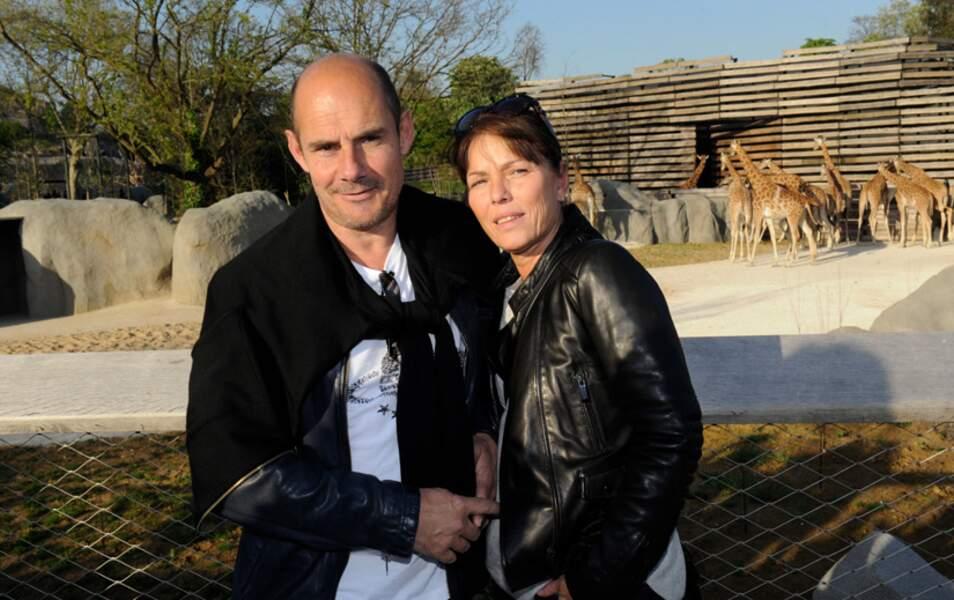 Bernard Campan et sa femme Anne