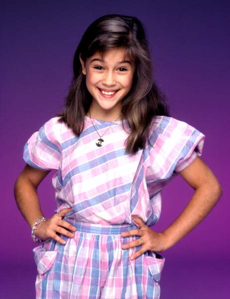 Alyssa Milano (Samantha Micelli) à l'époque