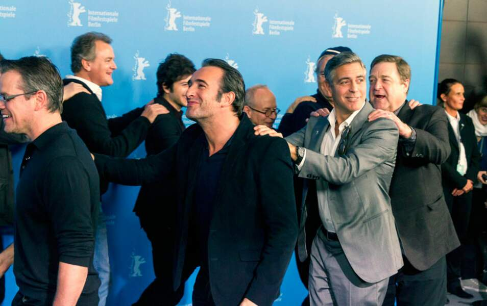 Matt Damon, Jean Dujardin, George Clooney, John Goodman