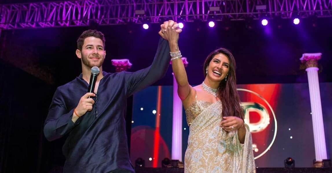 Priyanka Chopra et Nick Jonas mariés : ils continuent de célébrer leur union !
