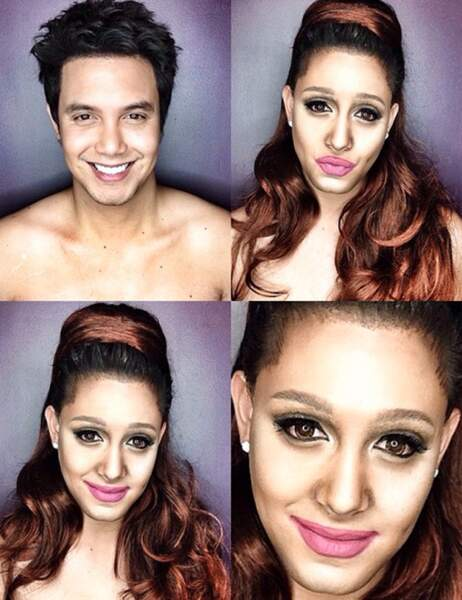 Paolo Ballesteros en Ariana Grande