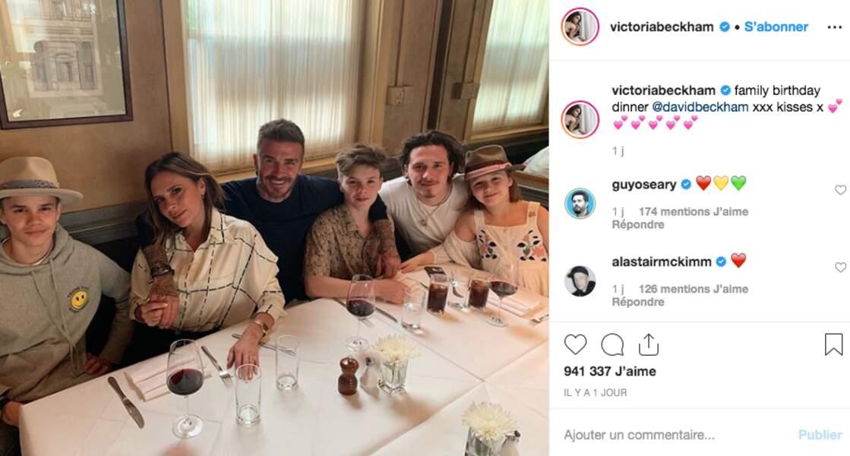 Les Beckham au grand complet