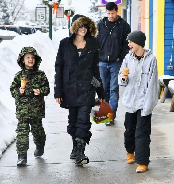Angelina Jolie a raconté une blague : Shiloh est hilare