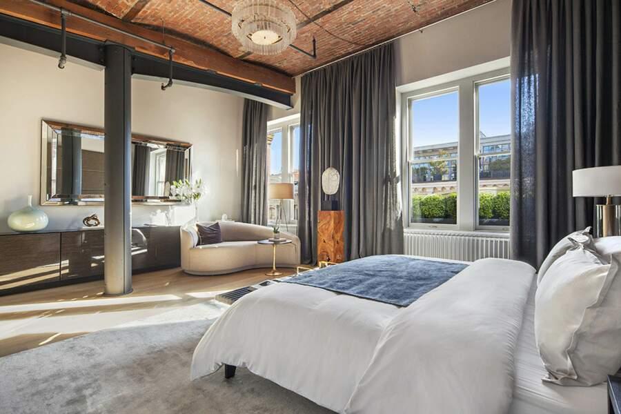 L'une des chambres de l'appartement de Zayn Malik