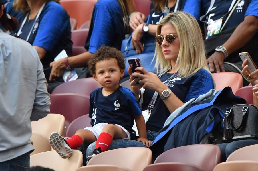 Camille Tytgat, la petite amie de Varane avec leur fils, Ruben